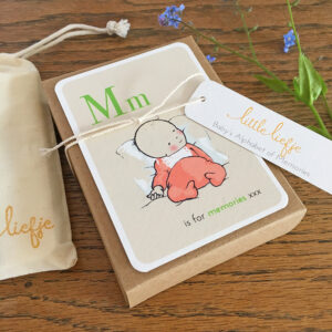 Baby Milestone Cards - Alphabet Babies - Little Liefje