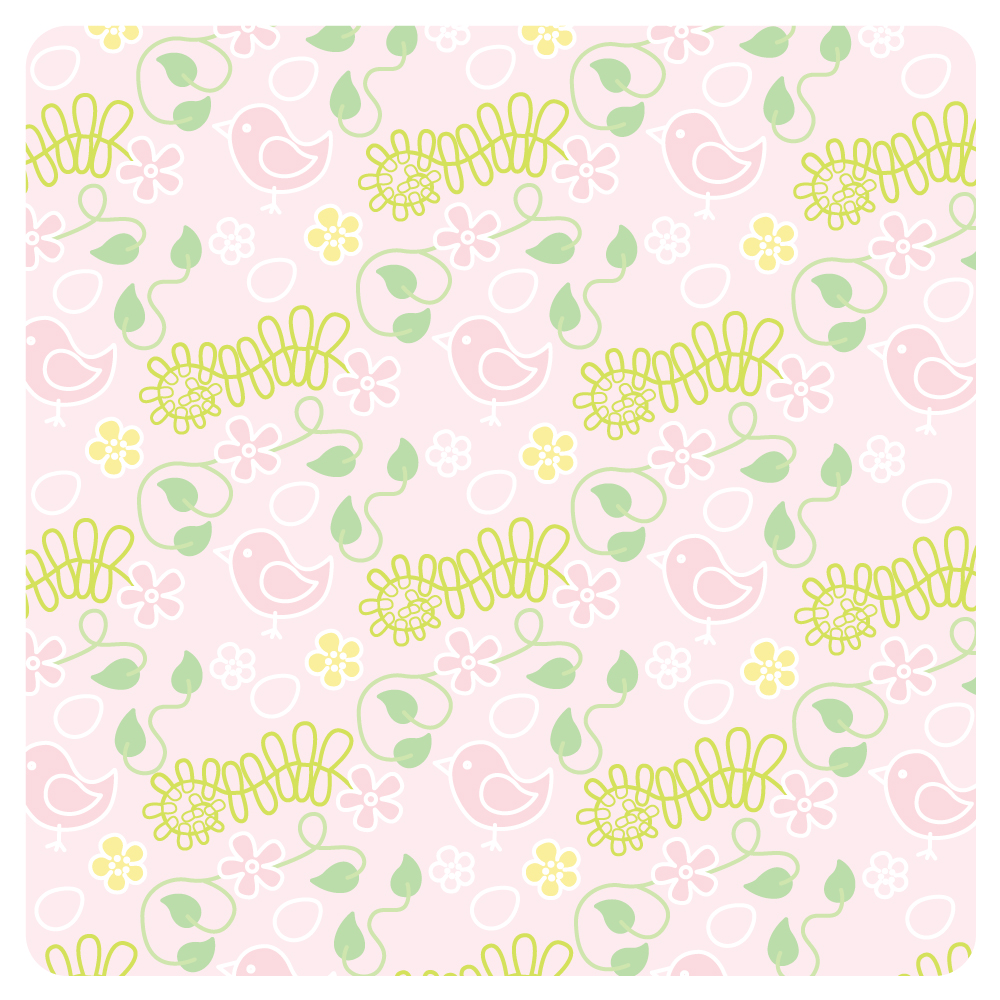 Spring Girl Seasonal Pink